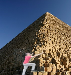 Dylan on The Great Pyramid of Giza